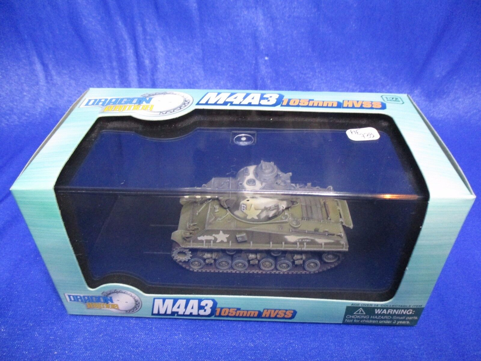 AF739 DRAGON ARMOR M4A3 105mm HVSS OKINAWA 1945 1 72 Ref 60315 WWII