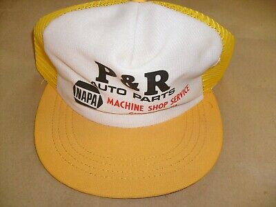 new cap, vintage patch Logo Trucker Hat Atlas Auto Parts