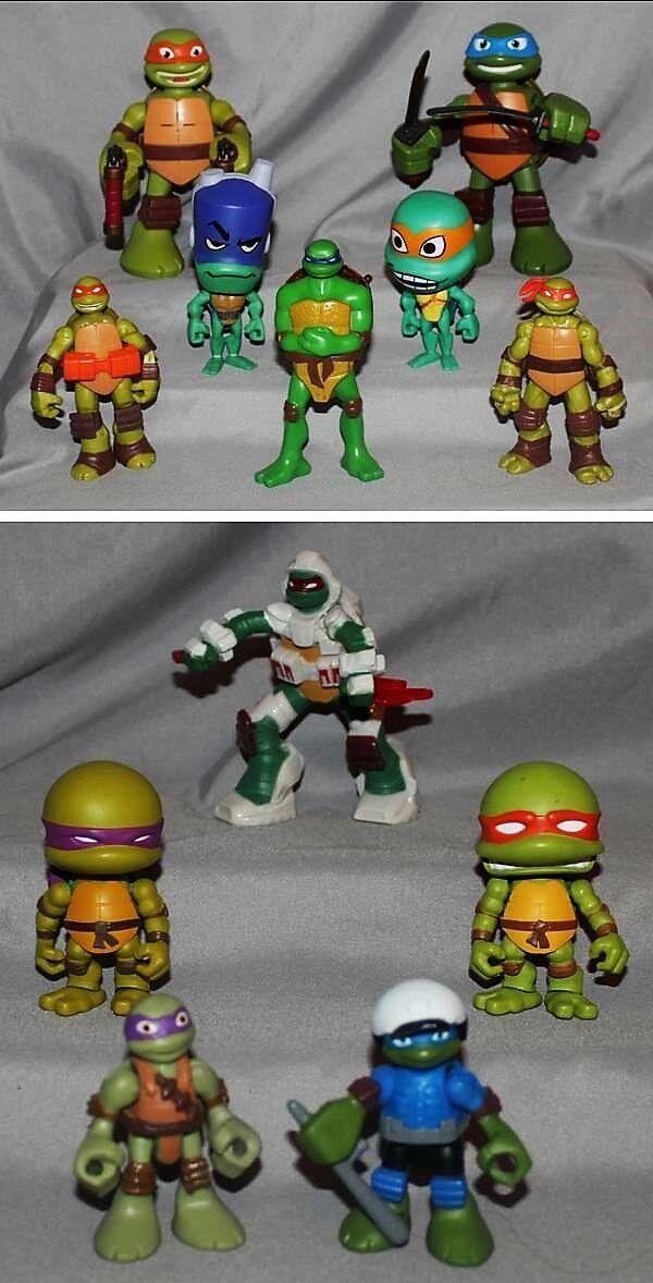 Teenage Mutant Ninja Turtles Huge Lot Misc Figures Figures Figures & Toys TMNT L@@K a238d1