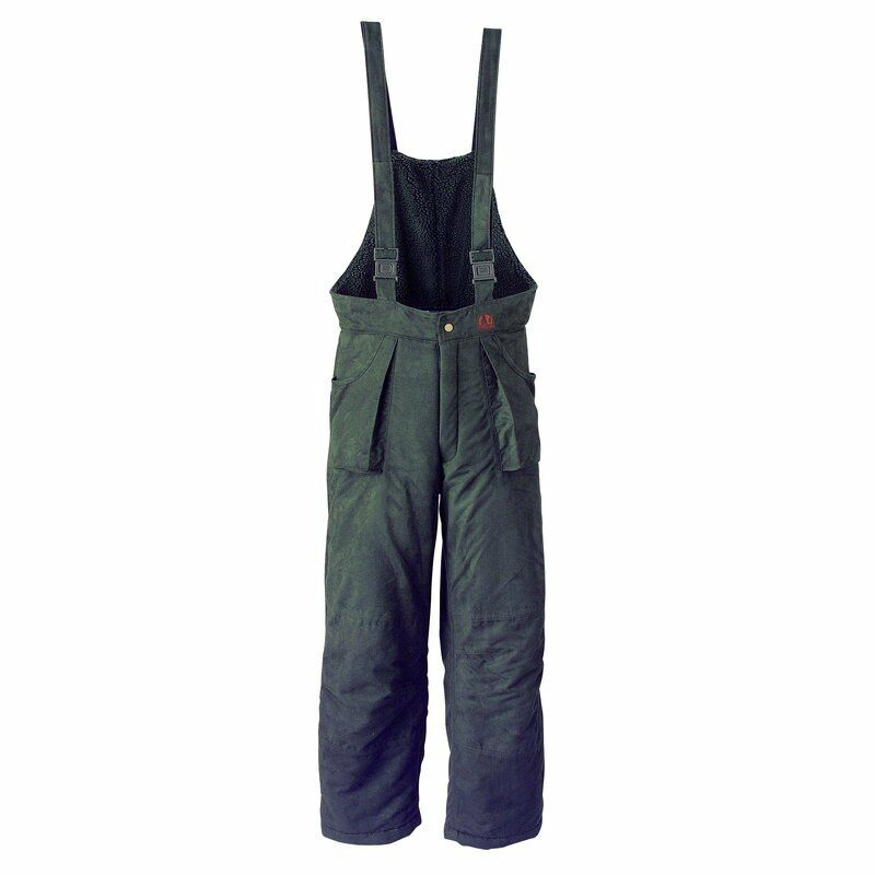 Farm-Land Moy Thermal Trousers Raised Hide Pants for Sitting Hunting