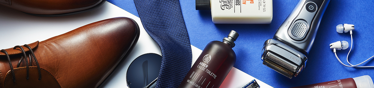 Shop Event Top Gifts for Him Cologne, shavers, accessories & more.