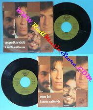 LP 45 7'' I SANTO CALIFORNIA Aspettandoti Con lei 1981 italy DUSE no*cd mc dvd