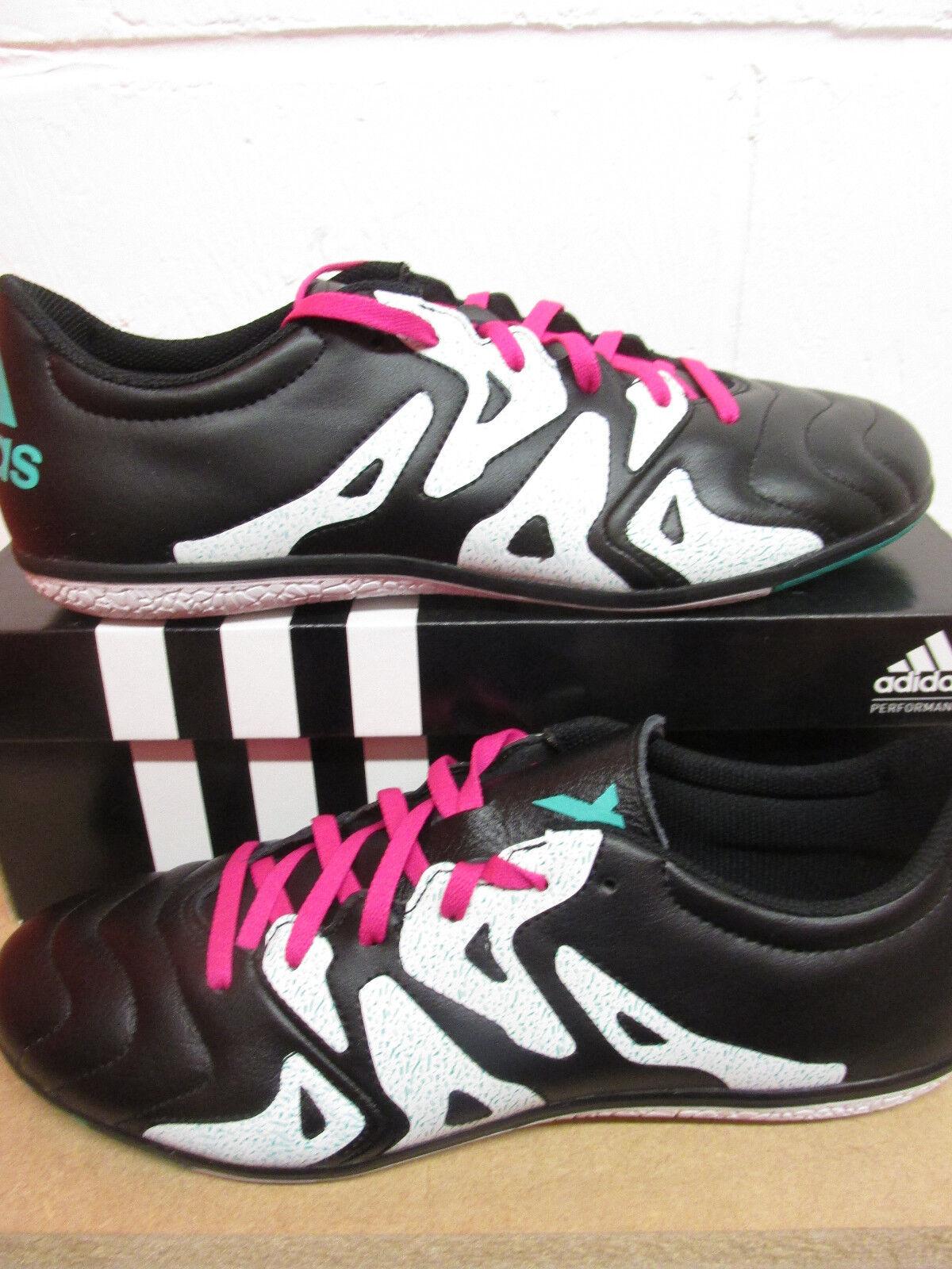 Adidas x 15.3 in pelle Uomo AF4773 Scarpe da Calcio Tacchetti da Calcio