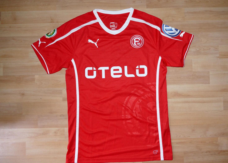 Spieler Trikot Fortuna Gartner Düsseldorf  21 Gartner Fortuna 2013-14 Pokaltrikot Gr. L b4a6f1