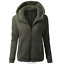 Women-039-s-Warm-Winter-Zip-Up-Fleece-Fur-Coat-Hooded-Parka-Overcoat-Jacket-Outwear thumbnail 13