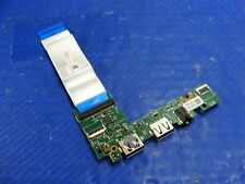 Dell Inspiron 11 3169 USB Audio Port IO Board+CABLE CHB02 1CK34 15894-1 4VC5V