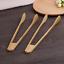 2 Pieces Natural bamboo salad food tongs bamboo food holder seafood tongs 竹制点心夹