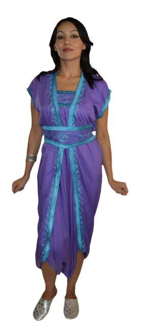 6c411724eac Caftan Jumpsuit Playsuit Romper Moroccan Bodysuit Women Sleeveless Lavender