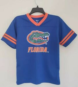 size 40 baa1e b43a8 Details about Florida Gators Youth Jersey Team Athletics Size LG Size 10/12  CI218