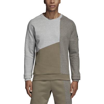 Adidas Men Sweatshirt ID Stadium Remix Fashion Style Running Training New CY9860   eBay