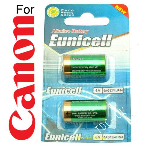 * 2x baterías se adapta a Canon A1 AE1 AV1 AT1 AE1 programa Nuevo post rápido
