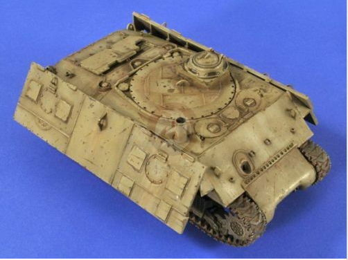 Verlinden 1 3 5 2645 Israeli Sherman Moving Practice Target