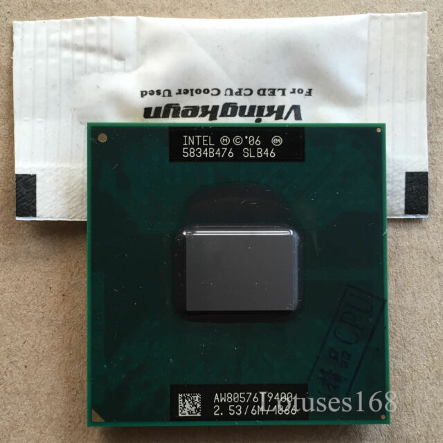 10pcs Intel Core 2 Duo T9400 2.53 GHz 6M 1066 Dual-Core Processor Socket P CPU