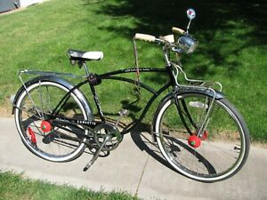 Vintage Schwinn Bicycle, 1962 CORVETTE 2 Speed Kickback Hub