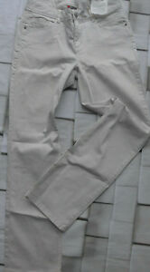 Street-One-Jeans-Envy-Cream-White-Beige-Size-W-30-and-33-L-30-Stretch-558-New