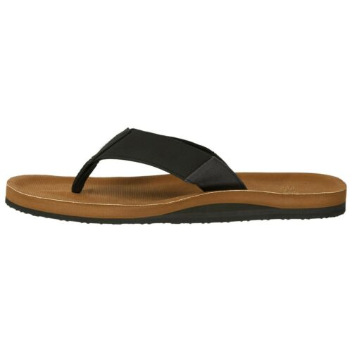 O/'NEILL MENS FLIP FLOPS.NEW CHAD ARCH SUPPORT BLACK BROWN THONGS SANDALS 9S 4//70