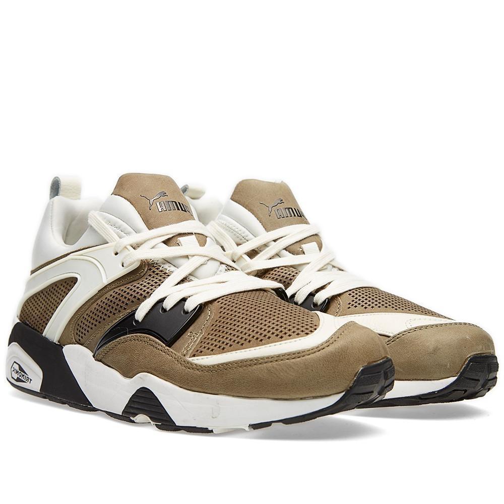 Puma trinomic Blaze Tech Olive hombres reducción de precios el y último descuento zapatos para hombres y el mujeres dd08af