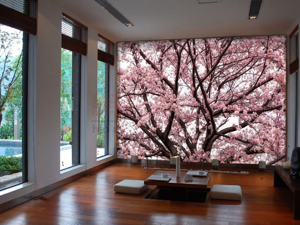 3D Cherry Blossoms 754 Wall Paper Murals Wall Print Wall Wallpaper Mural AU Kyra