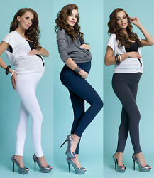 Lange Umstandsleggings für Schwangere Mama Schwangerschaft  Hose Leggings