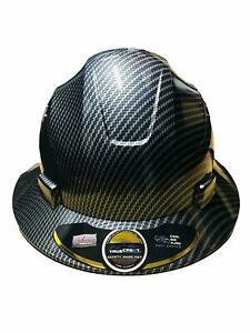 TRUECREST-Hydro-Dipped-Black-Full-Brim-Hard-Hat-with-full-size