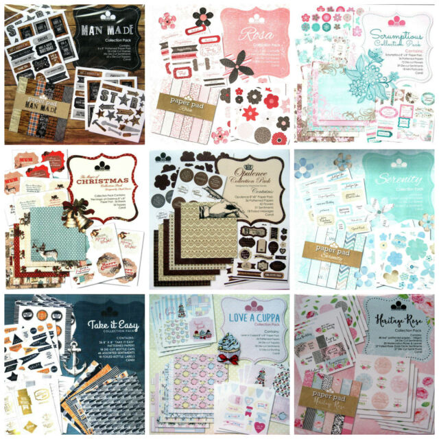Craftwork Cards craft collection - complete card kit - papers, die cuts, candi