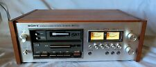 Sony TC-203SD Vintage Stereo Cassette Deck for parts or repair