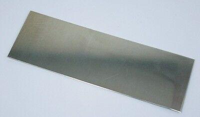 "Nickel Silver Sheet 20ga 6/"" x 2/"" .81mm Thick"