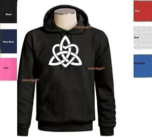 dafb1dc5a280 Celtic Triquetra Heart Sweatshirt Symbol of power & Love Hoodie SZ S ...