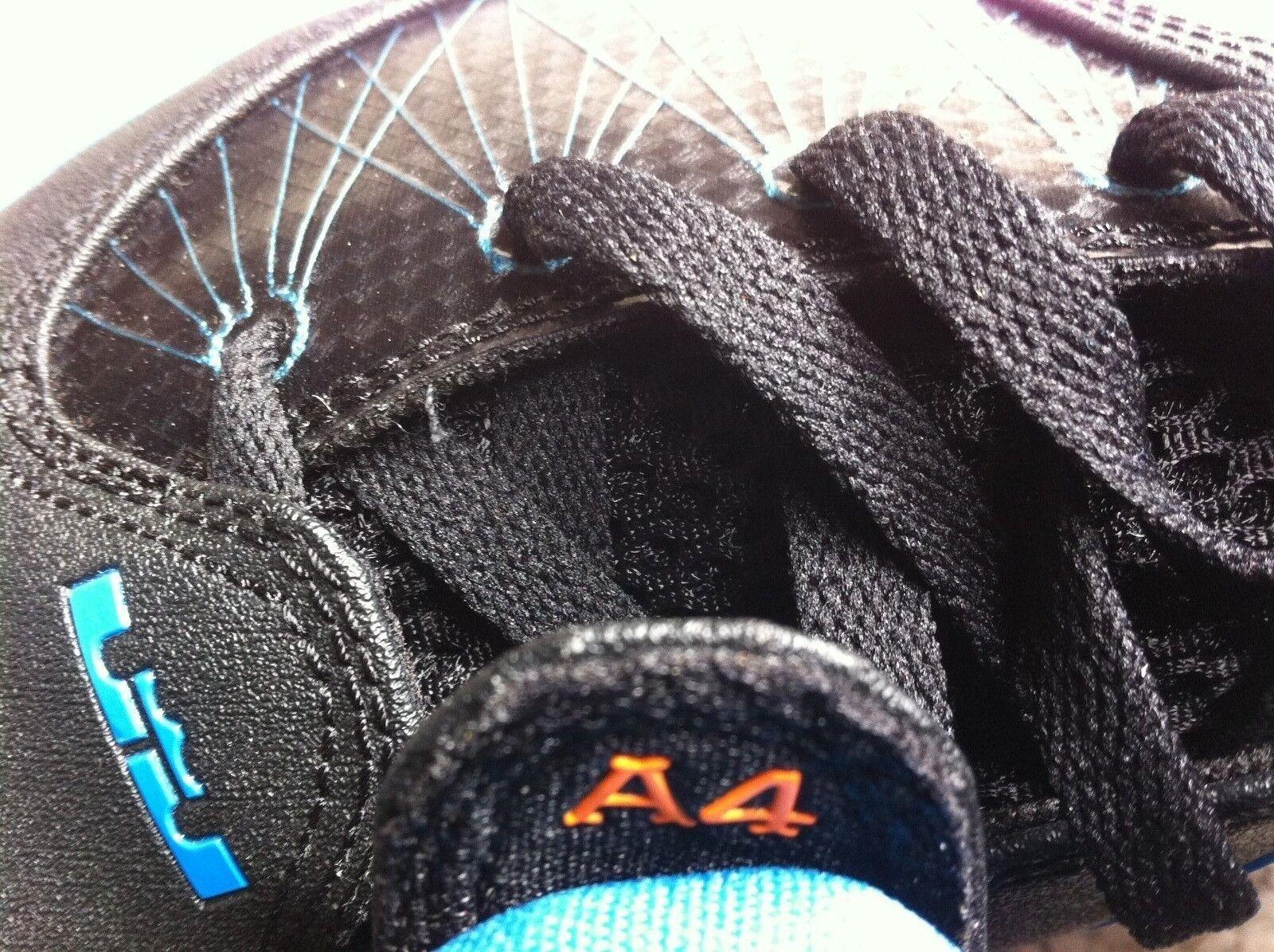 Nike Air Max Max Air Ambassador IV 456815-005 NY Kniks Lebron Black/Neptune Blue USA 12 c7ce62