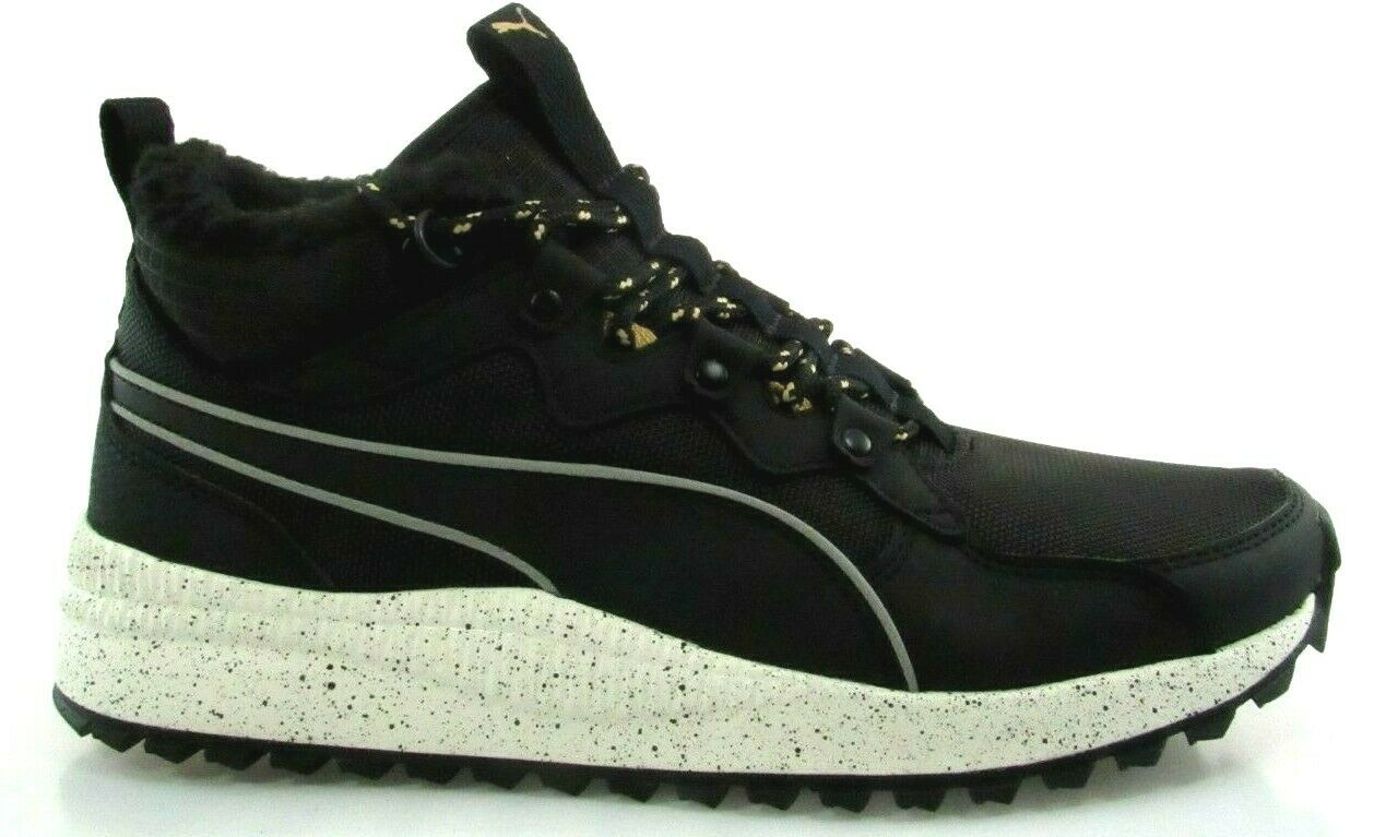 PUMA PACER NEXT SB WTR MEN'S BLACK MID-TOP SNEAKERS