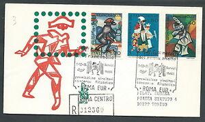 1974-ITALIA-FDC-VENETIA-387-GIORNATA-DEL-FRANCOBOLLO-TIMBRO-ARRIVO-SZ4