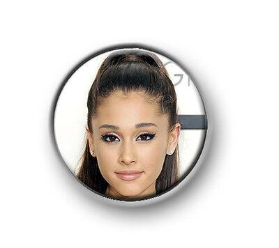 "Ariana Grande HEART ARIANA I LOVE pop R/&B 25mm pin button 1"" badge"