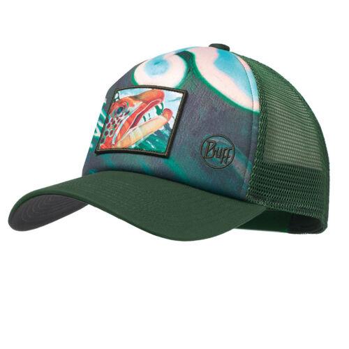 Trucker-Style Fishing Hat feat Derek DeYoung Graphics BUFF Trucker Cap