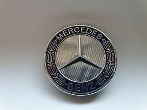Original-Mercedes-Benz-Emblem-mit-Stern-Motorhaube-Emblem