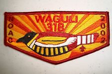 OA Lodge 318 Waguli NOAC 2015 Flap Set Northwest Georgia GA CD793