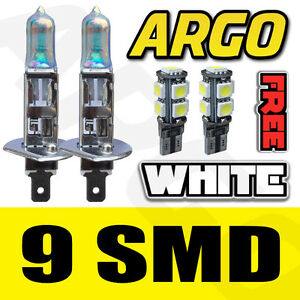 FORD TRANSIT H1 + 501 55W HALOGEN SUPER WHITE 228 FOG SPOT LIGHT LAMP BULBS HID