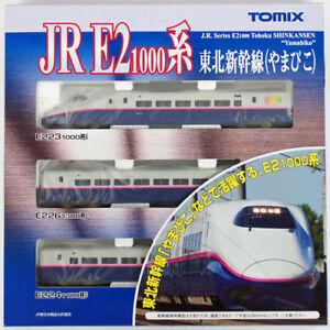 Tomix-92575-JR-Series-E2-1000-Tohoku-Shinkansen-039-Yamabiko-039-3-Cars-Set-N-scale
