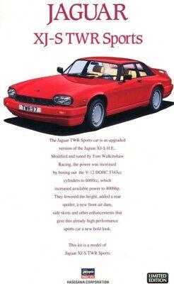 Hasegawa 1:24 Jaguar XJ-S TWR 2 Door Sports Car LTD Edition Model Kit 20339
