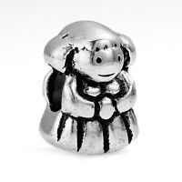 Little Girl Daughter Sister Niece Family Bead for Silver European Charm Bracelet