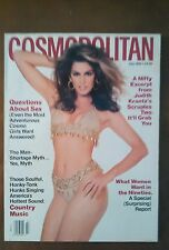 ***Cosmopolitan MAGAZINE July 1992 Cindy Crawford COVER BY SCAVULLO