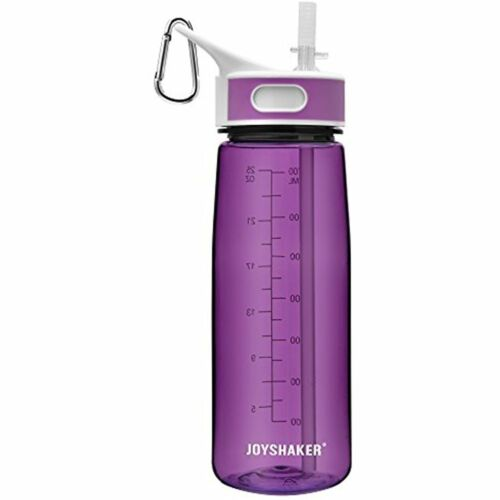 Sports Water Bottles With Straw BPA Free Tritan Non-toxic 28OZ Purple