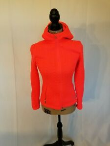 Xs Front Spyder Pink Hood Core med Sweater Cable lynlås Hot xfqPzfSwZ