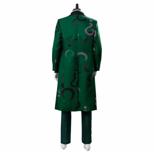 The Riddler Cosplay Gotham Season 5 Edward Nygma Green Outfit Cosplay Costume