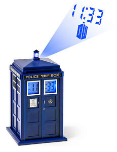 Doctor who tardis projection alarm clock brand new ebay - Tardis alarm clock ...