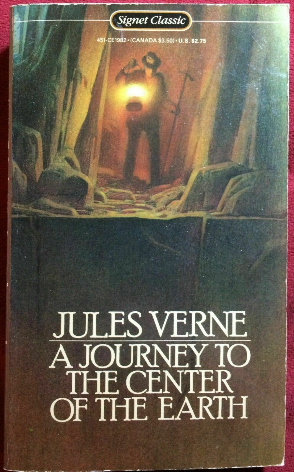 Journey to the Center of the Earth by Jules Verne (1986