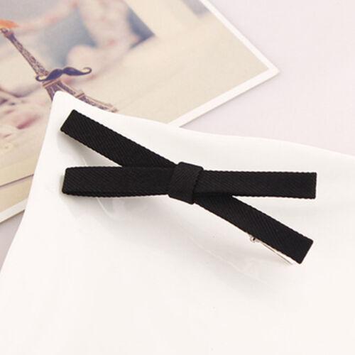 Mädchen Kinder Tuch Bogen Bowknot Barrette Haarschließe Clip Haarnadel Zubehör