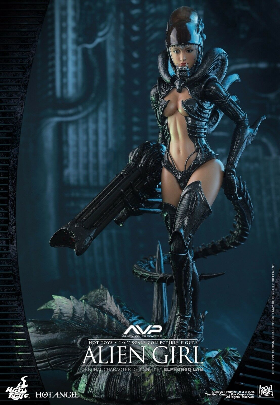 HOT TOYS HAS002 AVP Alien Girl 1/6 Figure