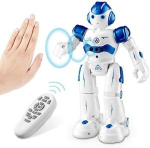 SUNACE RC Robot Toy Kids, Smart Toys Remote Control Intelligent Programmable Kit