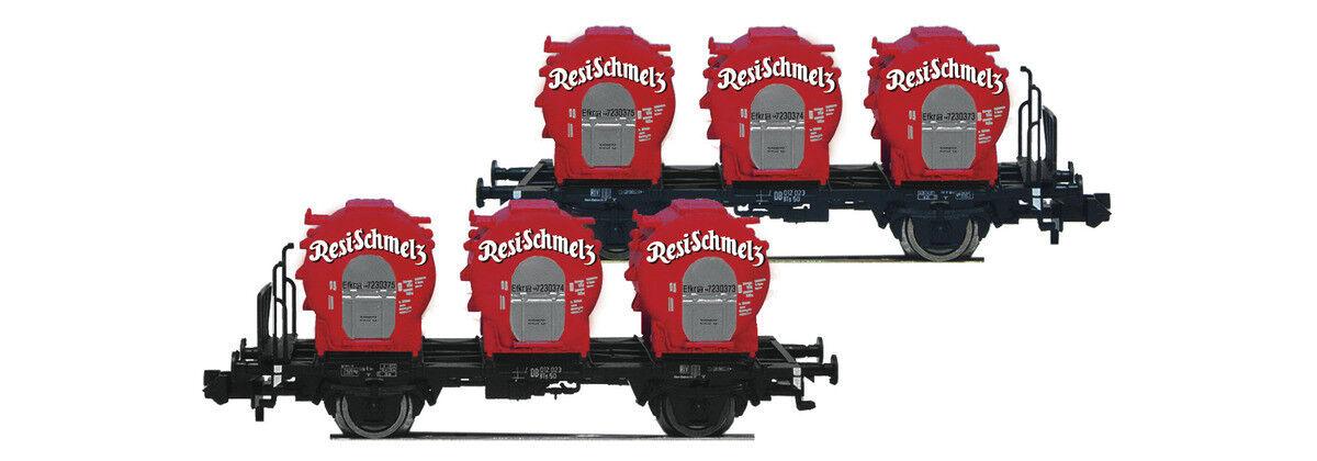 Fleischmann 823302, 2tlg. set recipientes carro estructural resi-hidrato, DB, nuevo y en su embalaje original, n