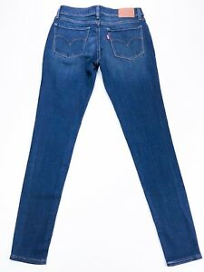 Ladies super bleu Levi's 710 de foncé Jean skinny 7q0fR